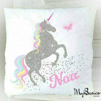 Naam kussen naamkussen geboortekussen unicorn cadeau