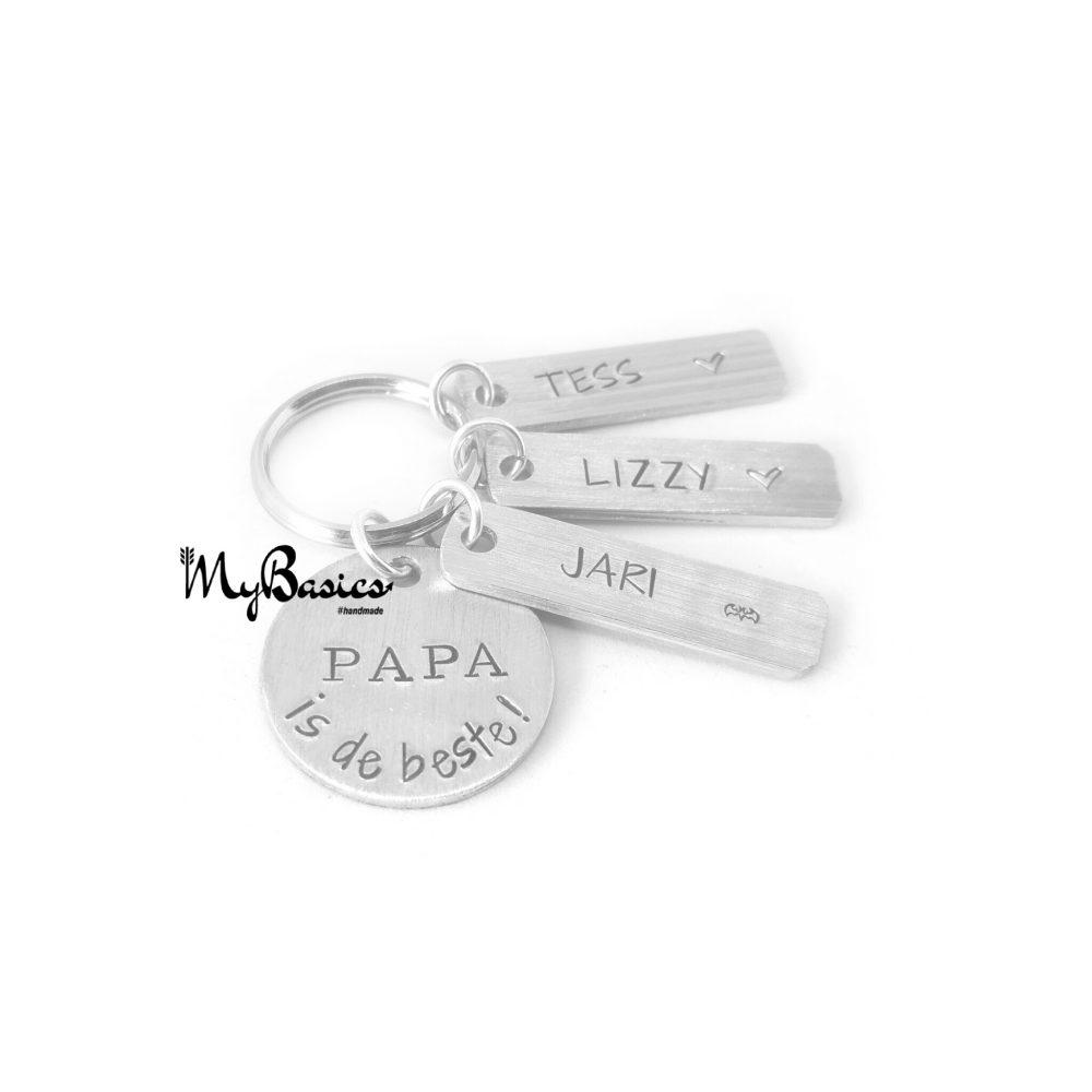 papa=sleutelhanger-cadeau
